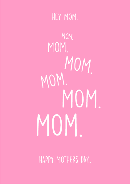 Mothers Day Card -